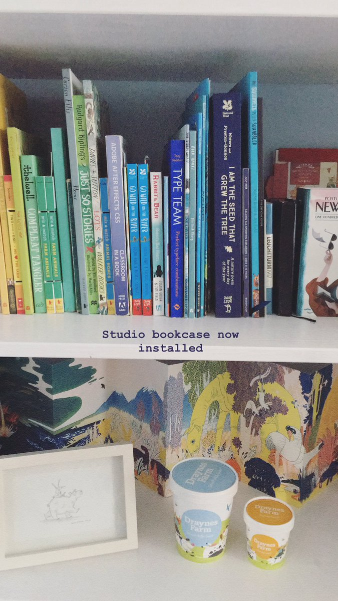 Rachael Saunders On Twitter Studio Bookshelf Now Installed
