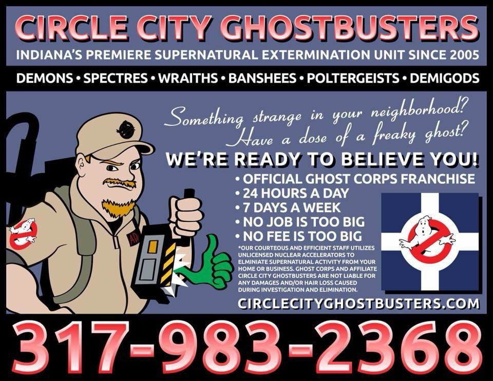 Circle City Ghostbusters on Twitter: