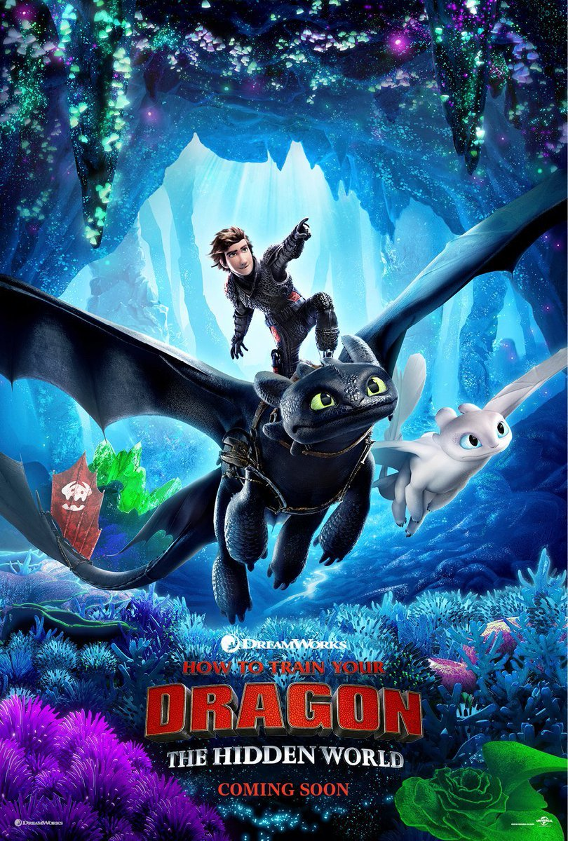 Hiccup & Toothless soar into action in this new #HowtoTrainYourDragon poster.