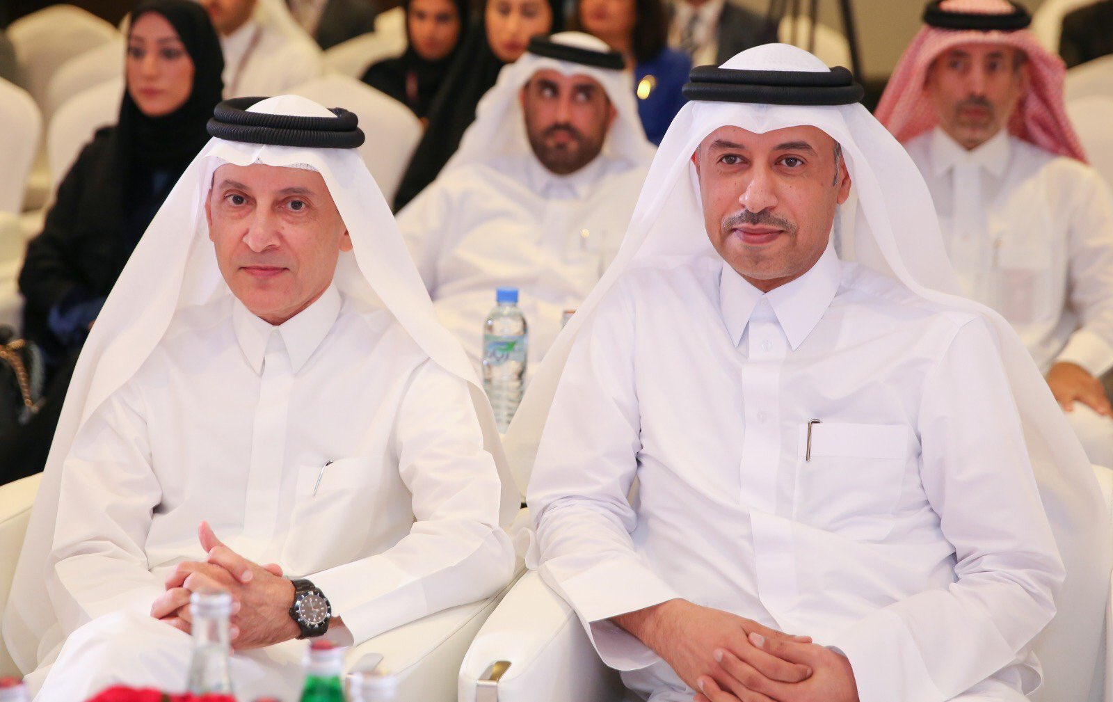 "Catalin Radu on Twitter: ""Opening of the @ICAO Forum on Combatting Human Trafficking by HE Mr. Akbar Al Baker, the @qatarairways CEO, and HE Dr. Issa Bin Saad Al Jafali Al Nuaimi,"