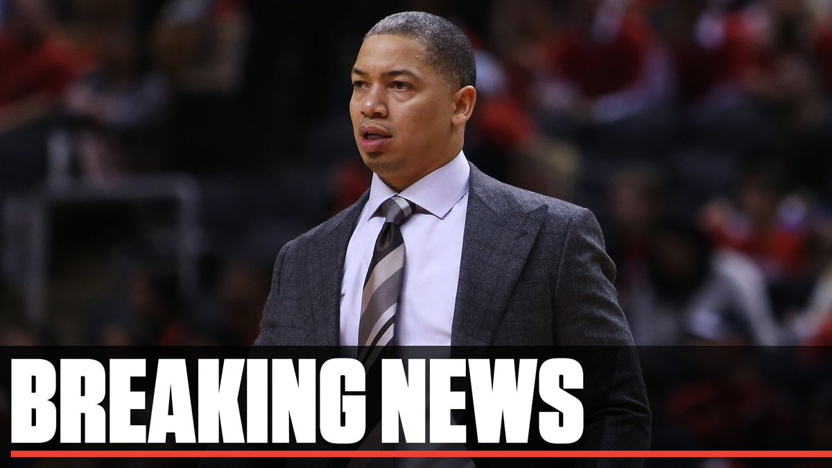 75dbeda2a761 breaking the cleveland cavaliers have fired head coach tyronn lue via the  athletic confirmed by espn