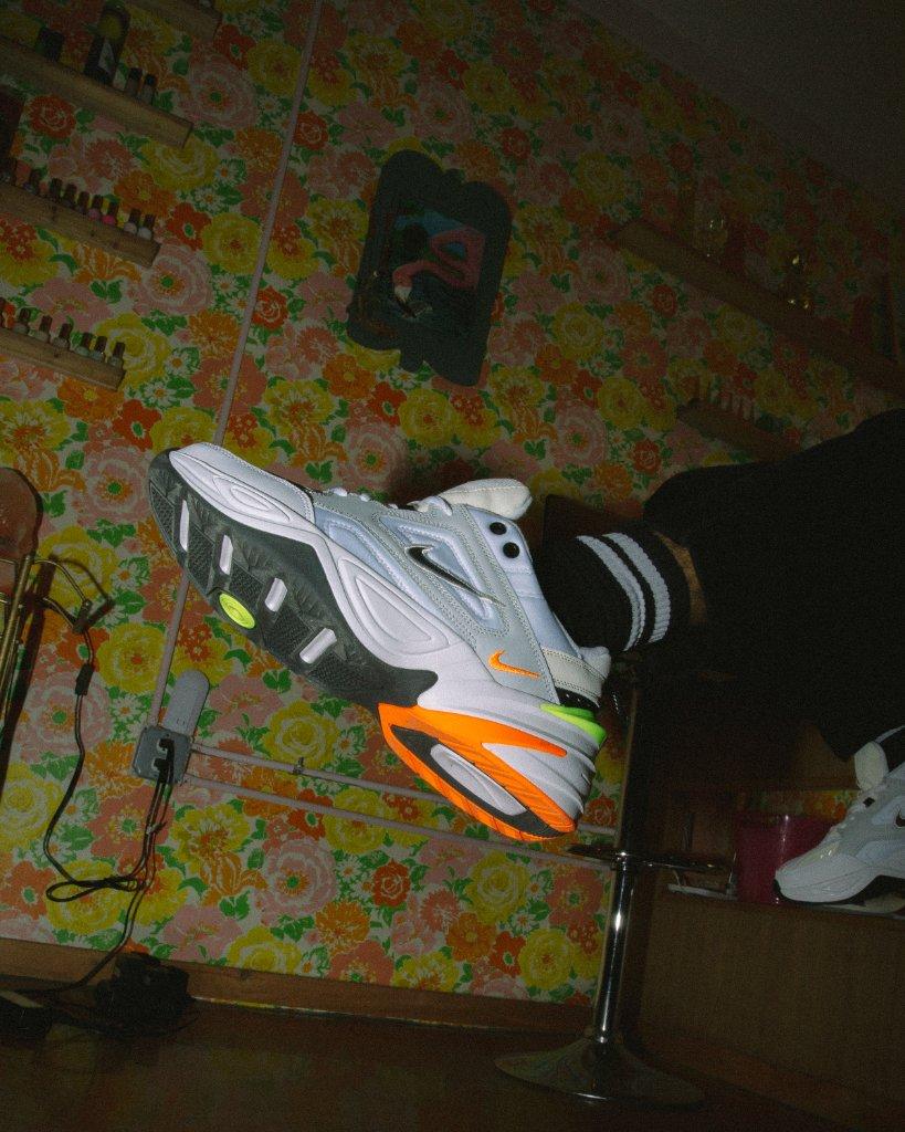 New wave, retro feel. #Nike M2K Tekno