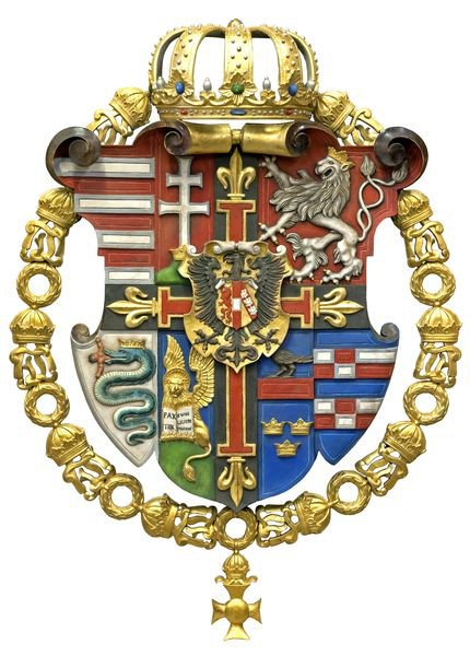 "German Order on Twitter: ""Coat of Arms of Archduke Wilhelm Franz ..."