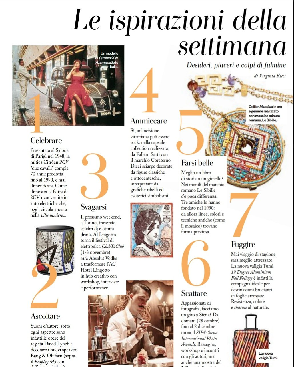 "Amica Compie 40 Anni le sibille on twitter: ""as seen in #iodonna ✨ thanks so"