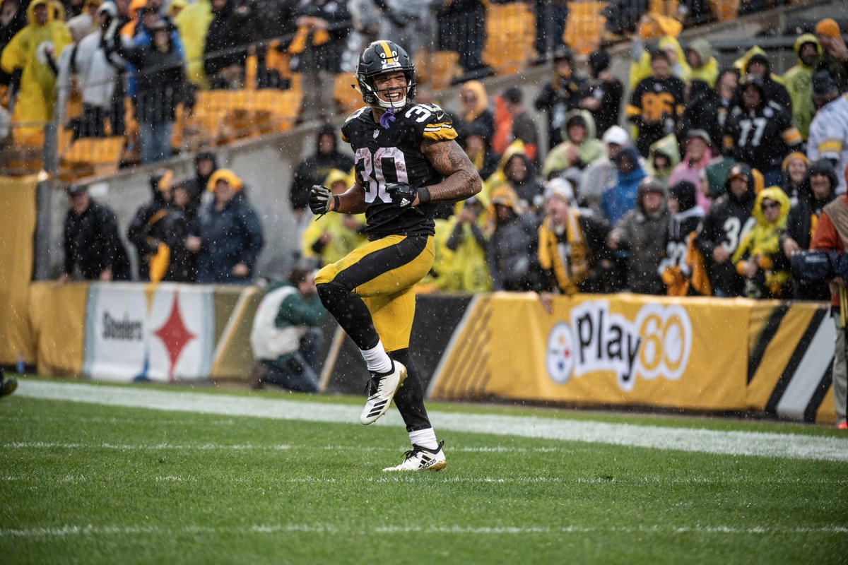 Pittsburgh Steelers on Twitter: James Conner is the first player in