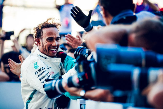 Lewis Hamilton is 2018 Formula One World Champion!