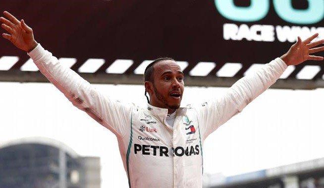 #F1 | Hamilton se consagró pentacampeón en México