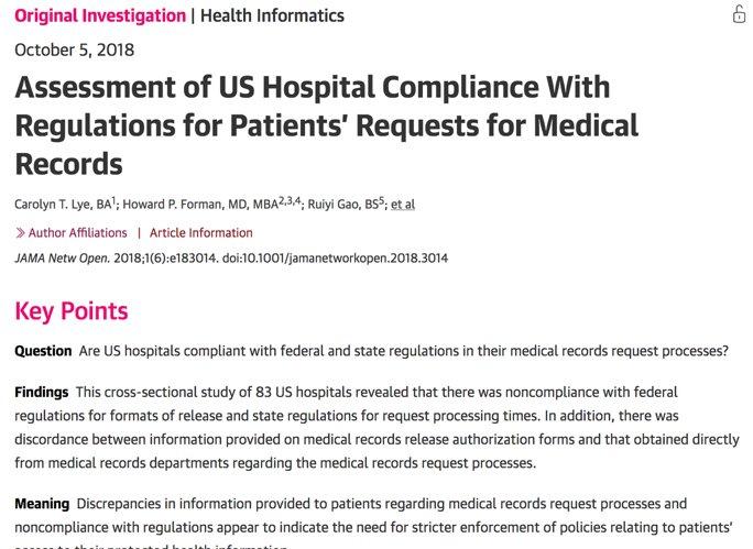 5 Investigates Big Discrepancies In >> Harlan Krumholz On Twitter From Onc Healthit Acute Care