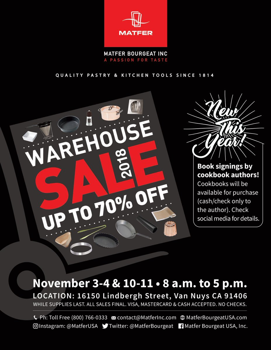 Hey Team Tila! I'll be signing copies of #101AsianDishes at @MatferBourgeat's Warehouse Sale this coming Saturday and Sunday: Nov. 3 at 9:00 a.m. and Nov. 4 at 1:00 p.m. Hope to see you there!<br>http://pic.twitter.com/zFIwHCzz4Z