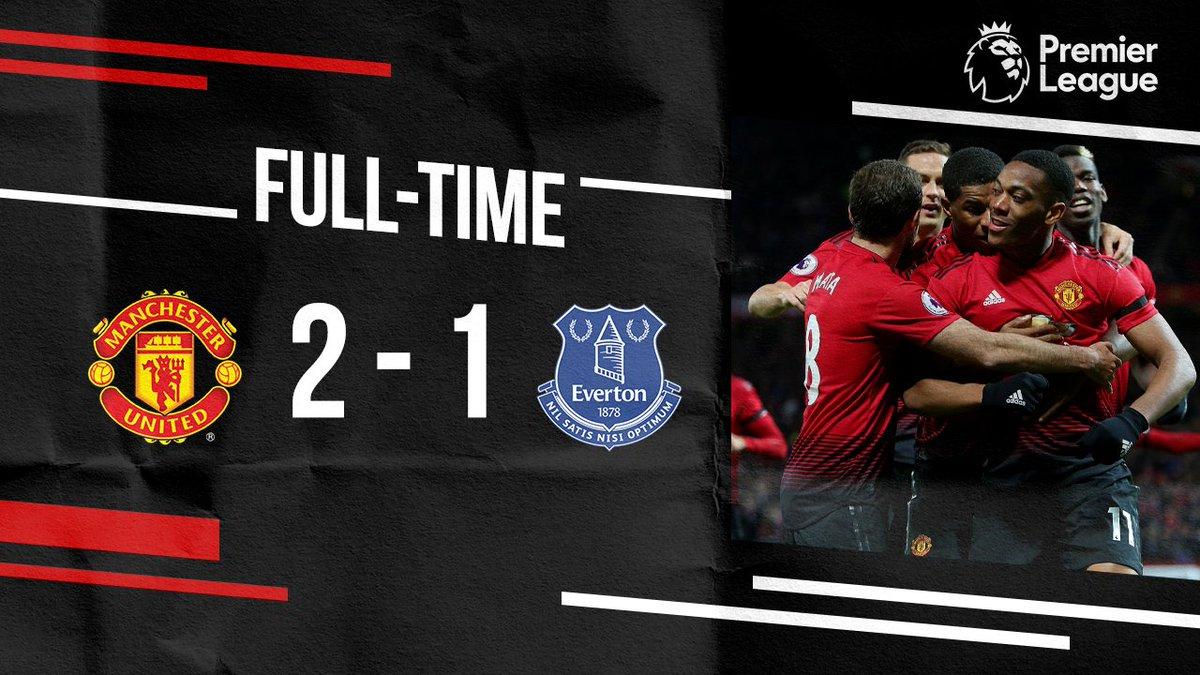 Chấm điểm kết quả Man Utd 2-1 Everton