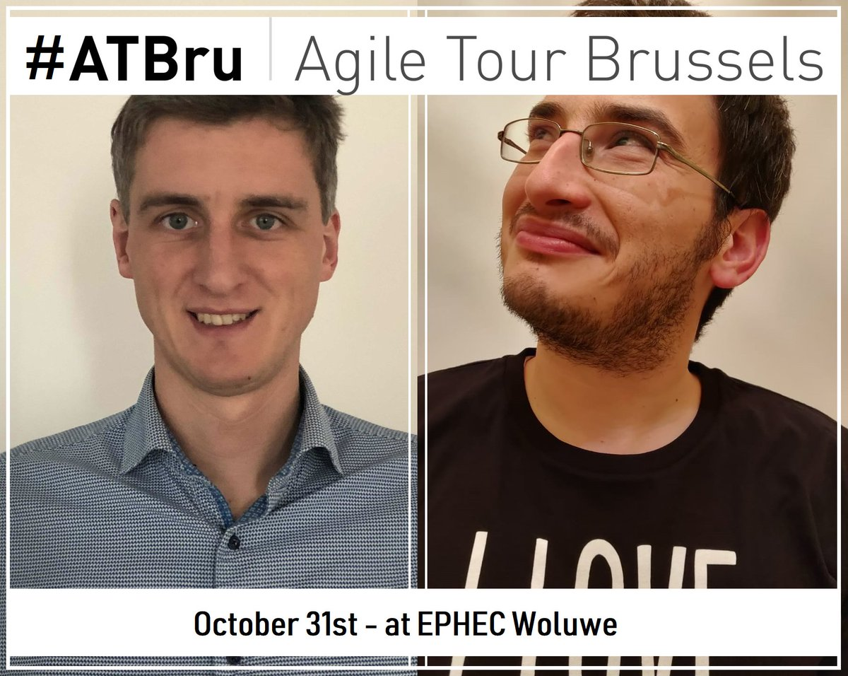 Want to improve collaboration between teams calling apis made by other teams? Don't miss the workshop of Nelis and Matteo : http://www.agiletourbrussels.be/nelis_boucke.html…  #ATBru #Agile #Consumerdrivencontracts #workshop