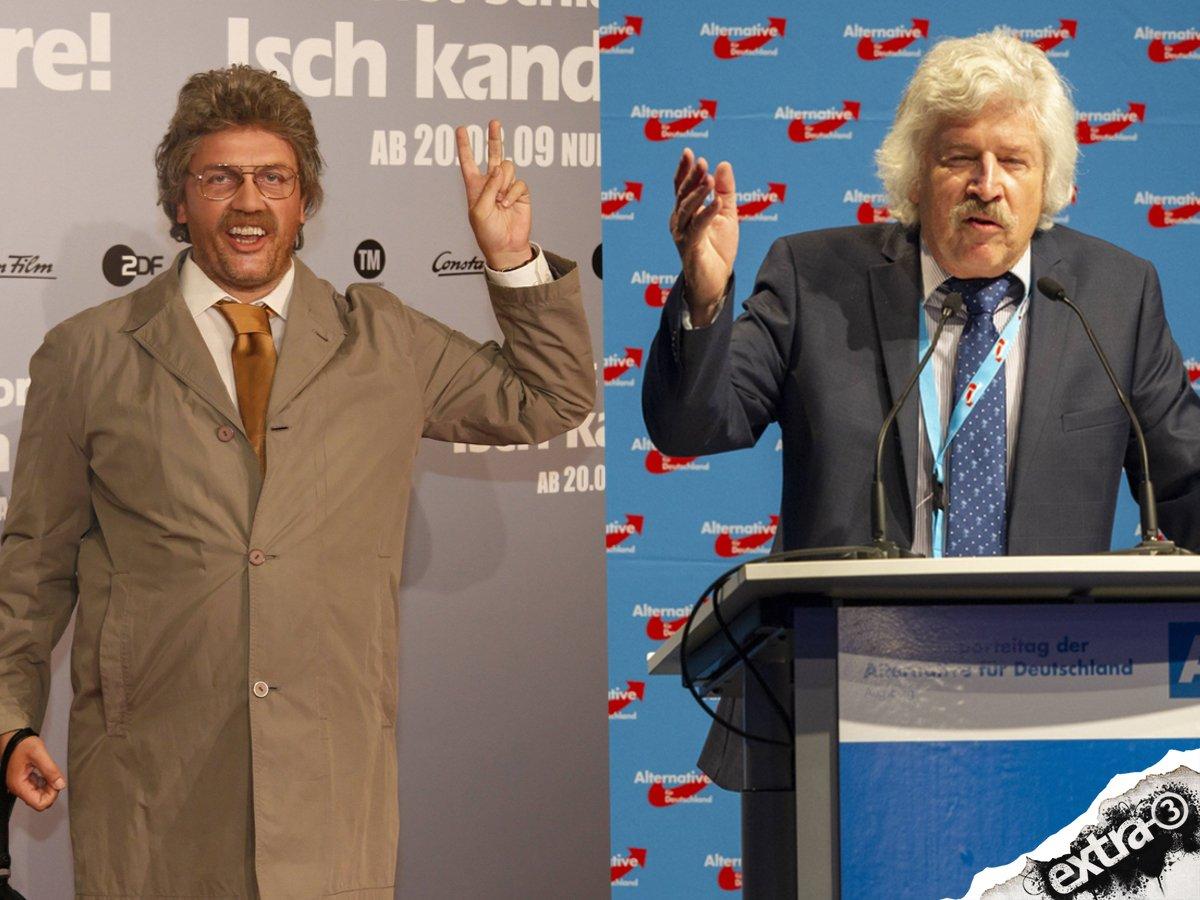Der Horst Schlämmer ist alt geworden ... #hessenwahl2018 #AfD #ltwhe18