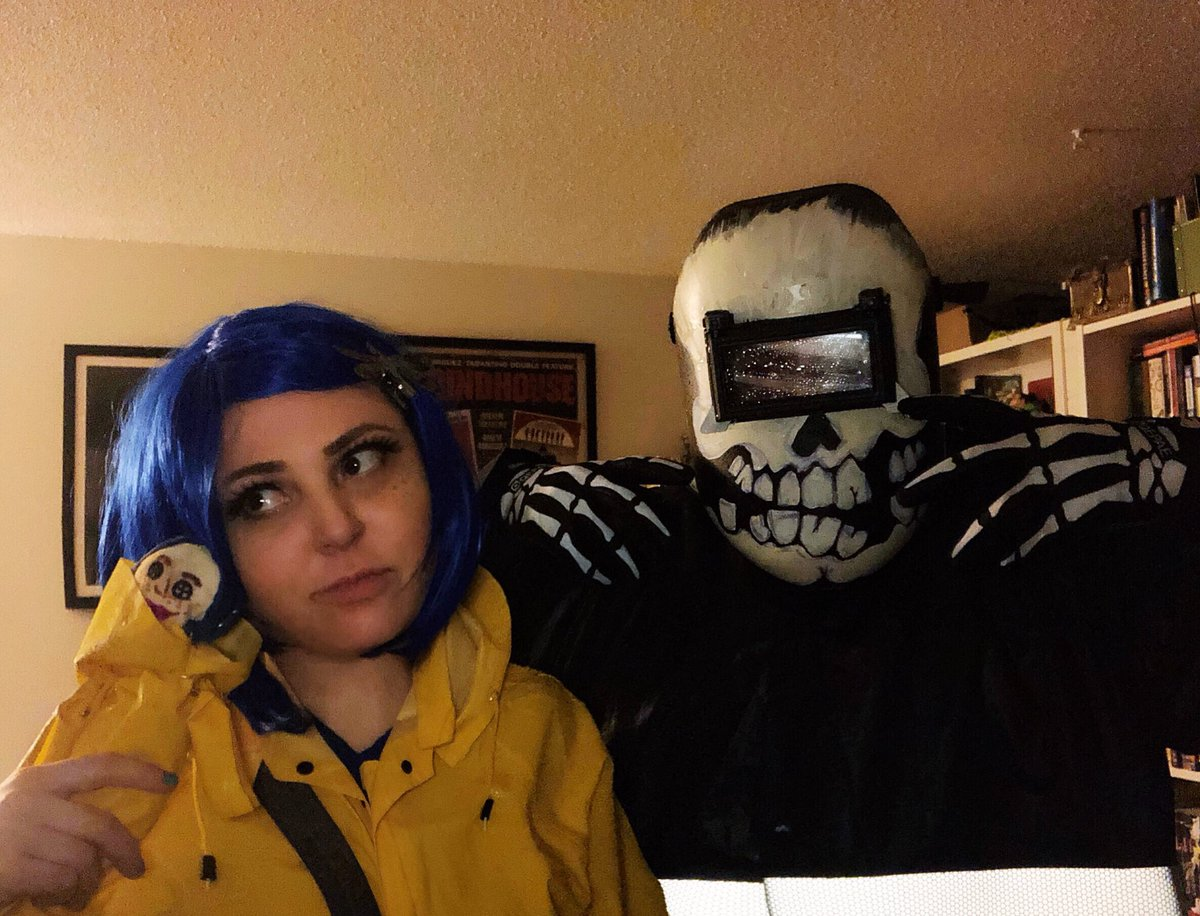Droid On Twitter Coraline And Wybie Rushed Costumes Came Out Great Coraline Wybie Laika Halloween2018 Halloweencostumes Cuties Https T Co Ehkvwvrhpf