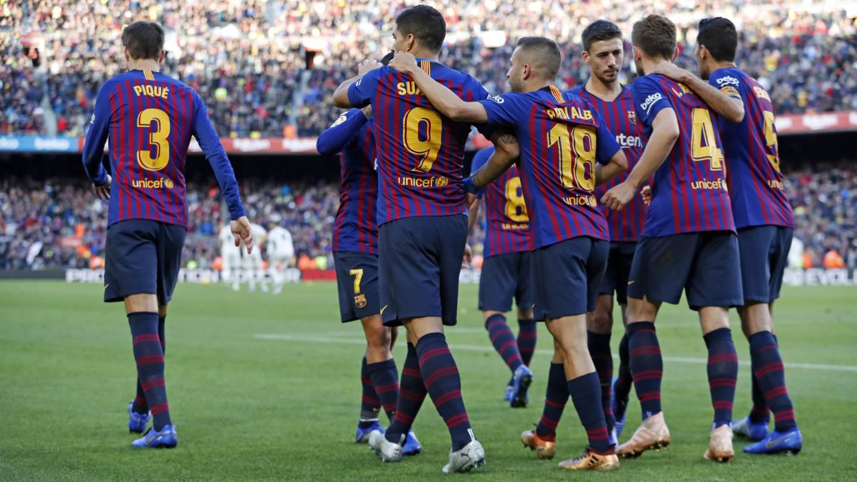 barcelona fc alineación