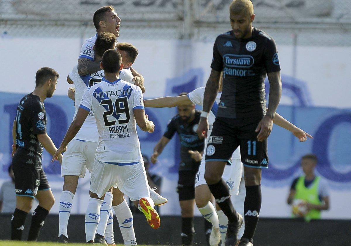Velez Sarsfield 1 Belgrano Cordoba 0 - Superliga 2018/19 (Fecha 10) - Vídeo DqnyQOhWsAE5iFM