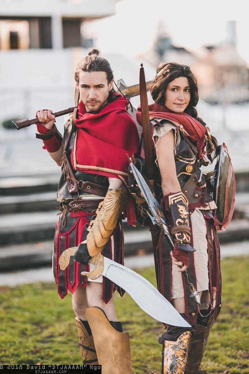 Dtjaaaam On Twitter Alexios And Kassandra And From Assassin S