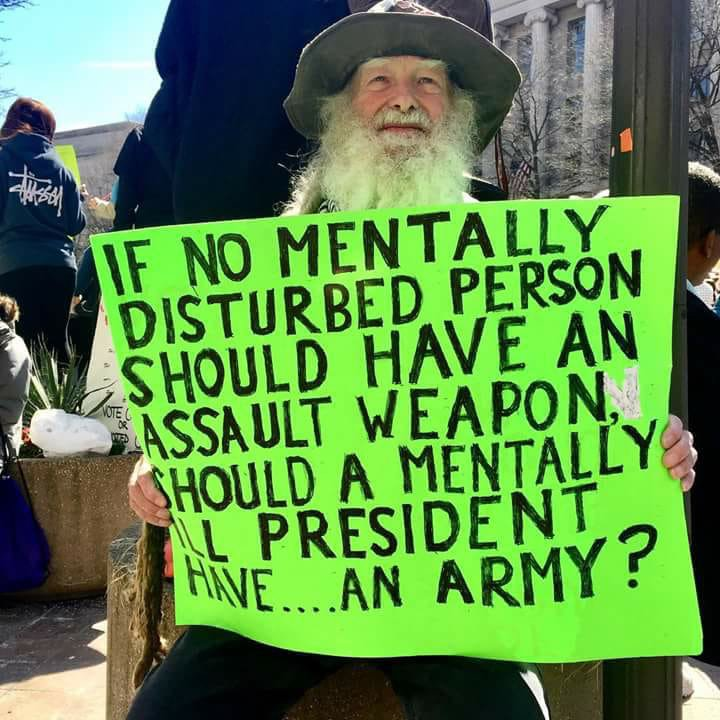 Image result for mentally ill president army