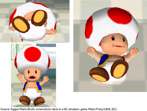 In the Mario Party 4 minigame Mushroom Medic, if Toad is