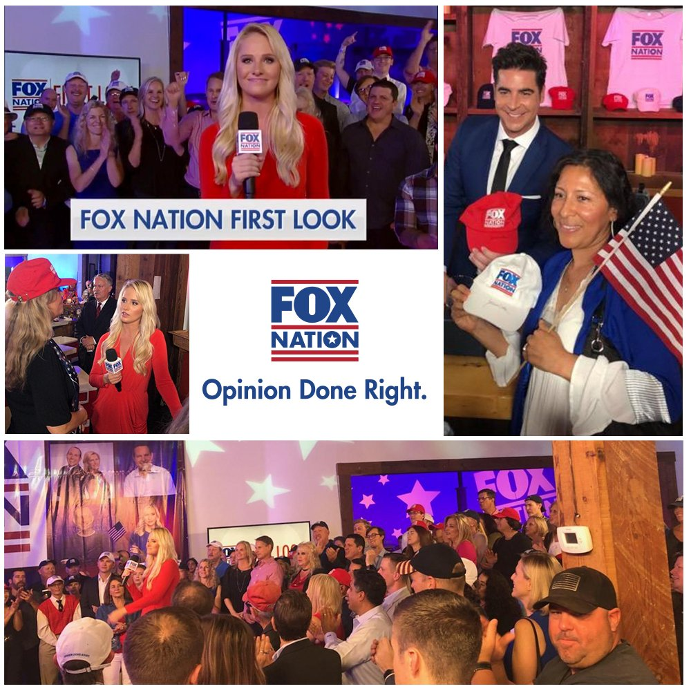 'Fox Nation First Look' starts right now on Fox News Channel. Tune in! #FoxNationFounder