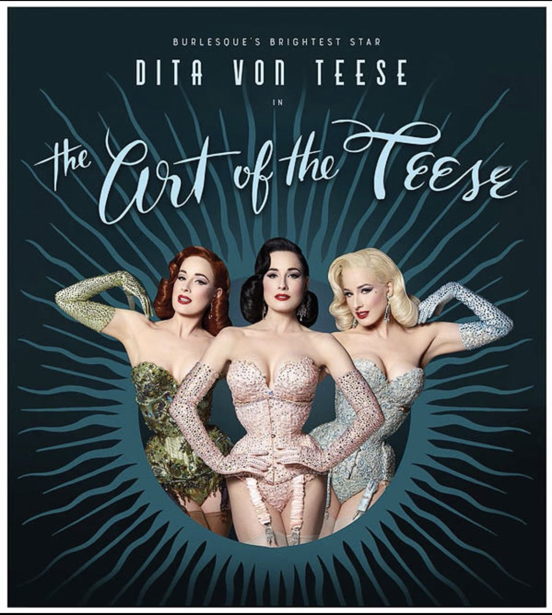 The Art of the Teese #burlesque tour continues! It's going to be a rowdy Monday night here in #Manchester! Next stops: #Geneva, #Lyon, #Paris! Artoftheteese.com for the last seats💋💋