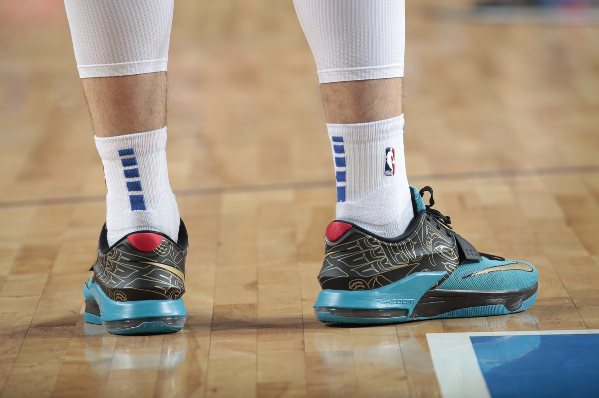 "online store c97f1 d29cc luka7doncic wearing the Nike KD 7 ""N7"" tonight against  Utahpic.twitter.com ZUqPDL8Ib9"