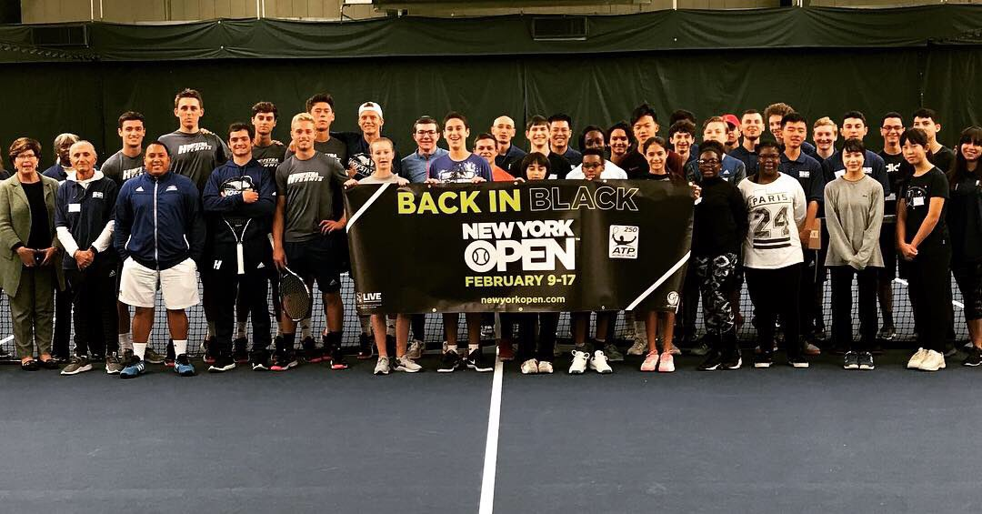 Thanks to everyone who came out today for the #NYOpen19 ball person try-outs!