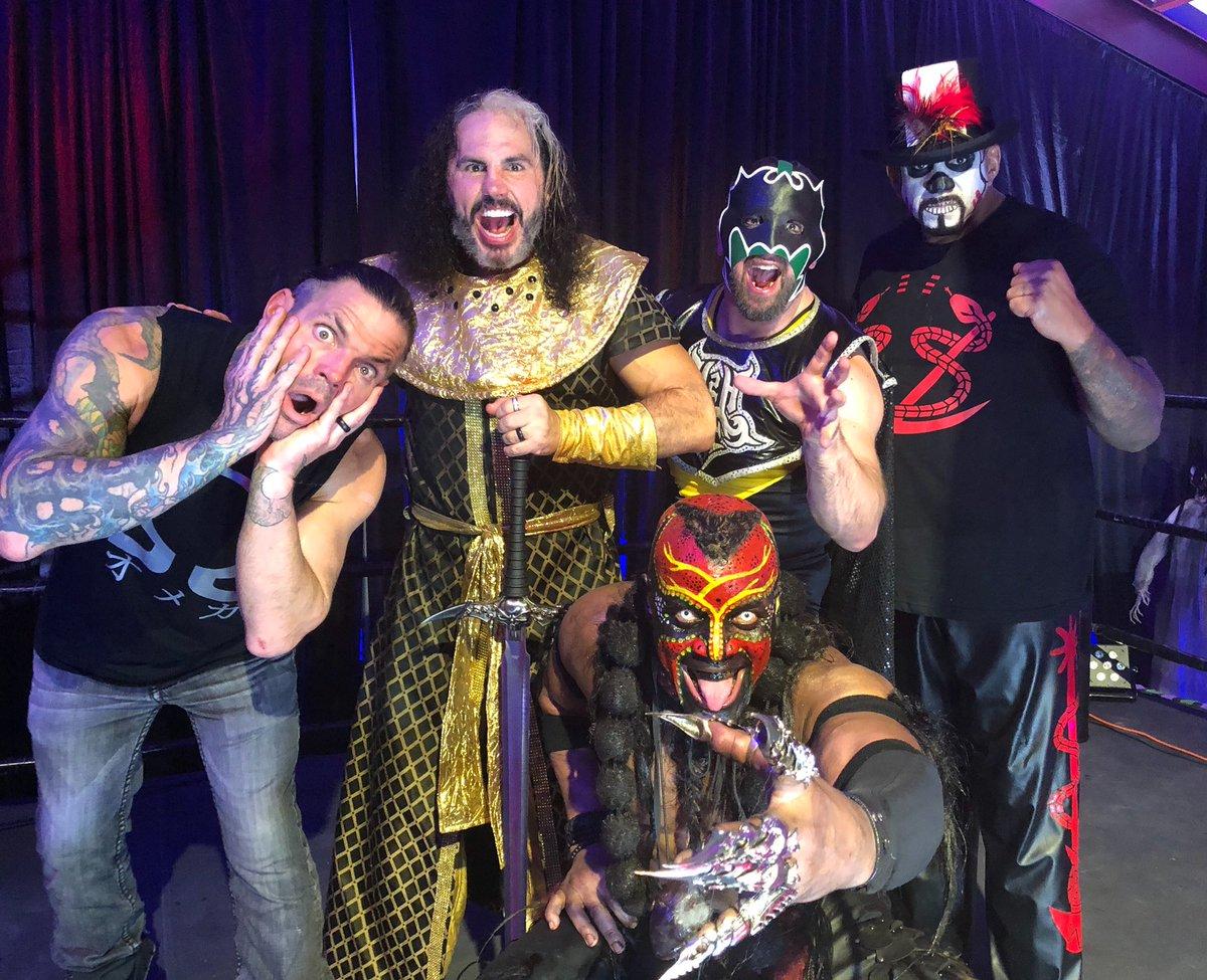 CURTAIN CALL. #HouseHardy #HouseHardyHalloween @WWENetwork