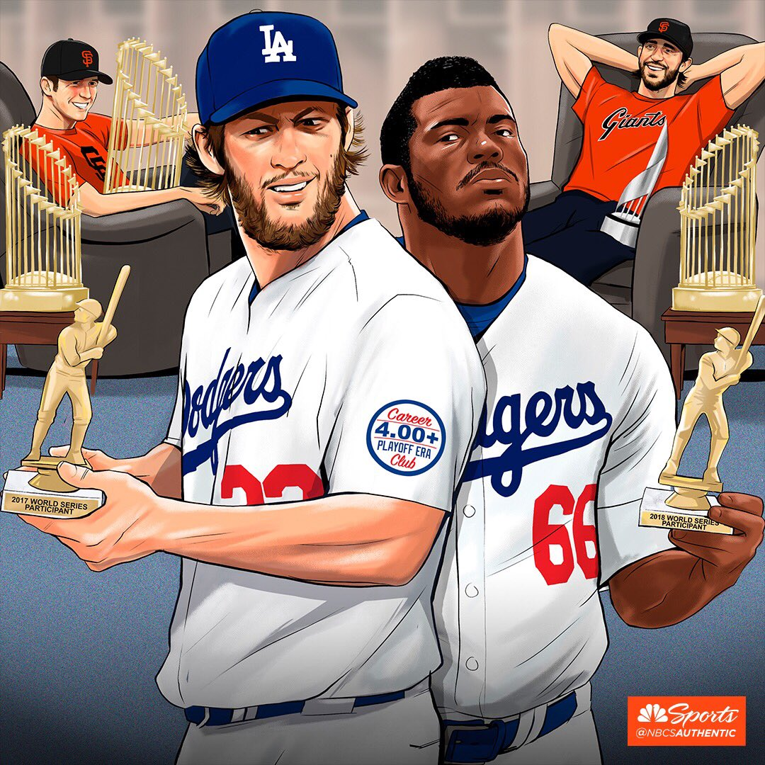 Congrats to the Dodgers on another World Series appearance!