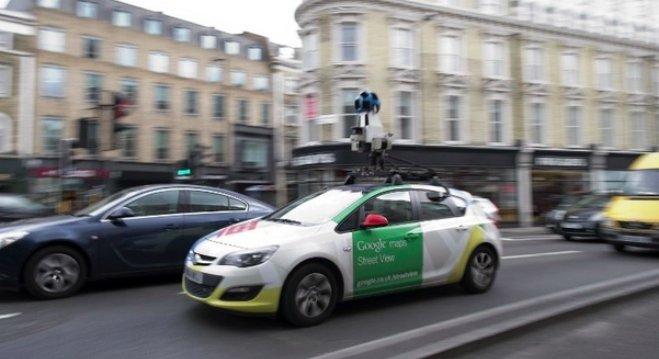 Michiel Sallaets On Twitter Les Voitures De Google Street View