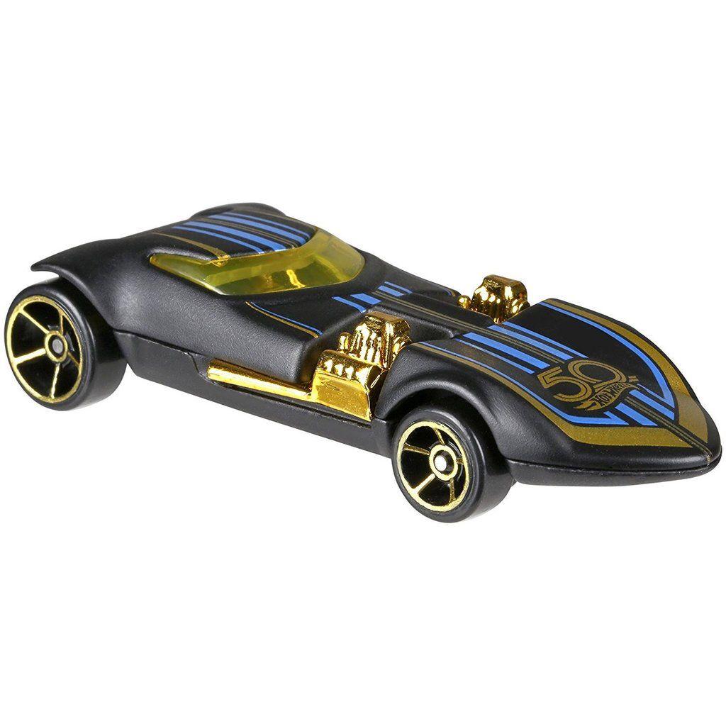 NEW Hot Wheels 2018 50th Anniversary Black /& Gold Series TWIN MILL Limited Ed
