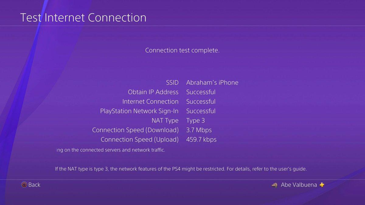 Ps4 Wifi Hotspot