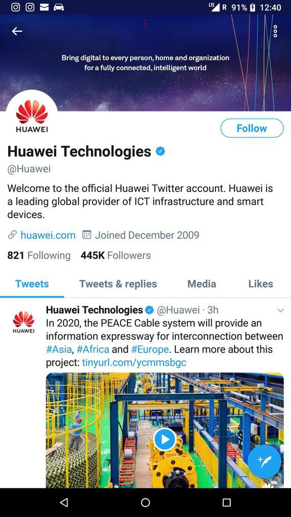 Huawei on Twitter: