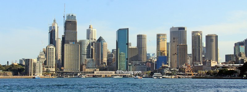 Sydney City Skyline