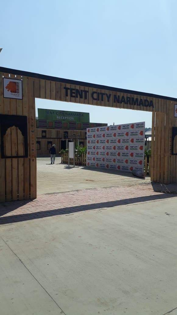 Online Booking Of Statue Of Unity Tent City At Narmada