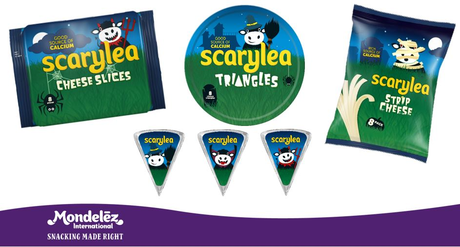 Remember the old saying folks, never eat cheese before bed or you'll get nightmares! HAPPY HALLOWEEN! 🎃 Check out these spooky packs we worked on! #Scarylea #Dairylea #halloween