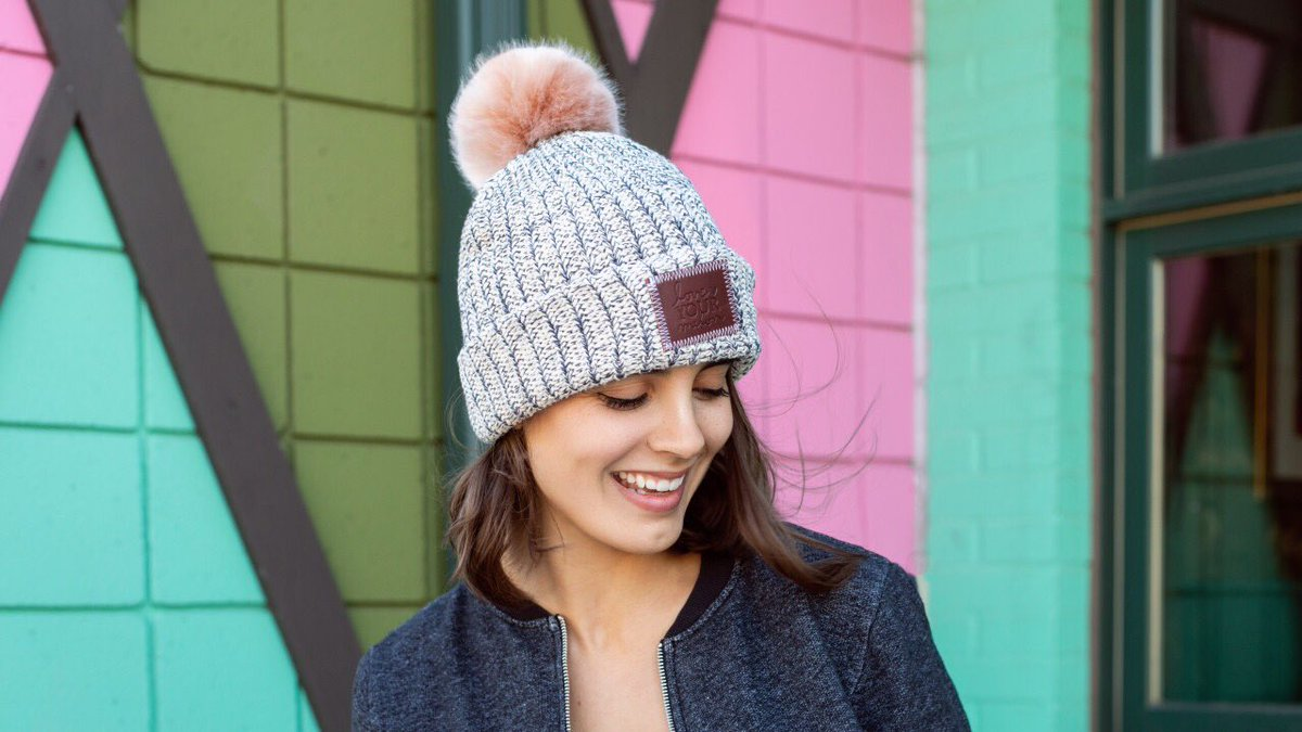 ffd99cfa5c8 Shop the collection of brand new blush pom beanies and kids pom beanies  today and support the fight against pediatric cancer at http   loveyourmelon.com  .