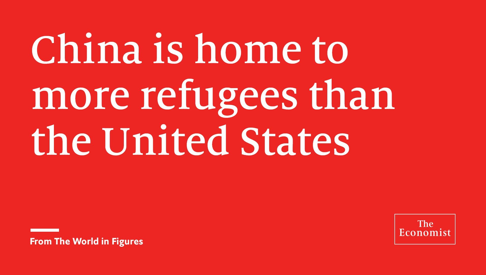 Turkey has the world's largest refugee population. From the World in Figures https://t.co/uy3wcmPSp0 https://t.co/sKfcpiUHUt