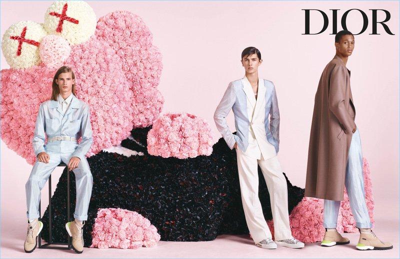#KimJones Showcases Duality of #Dior Men for Spring '19 Campaign #SS19 @Dior https://t.co/a56uaI7NCW