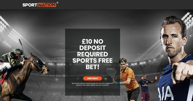 sportnation betting bonus