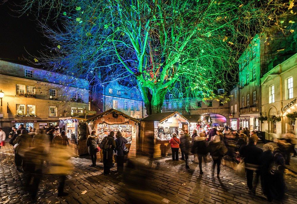 Kết quả hình ảnh cho Bath Christmas Market