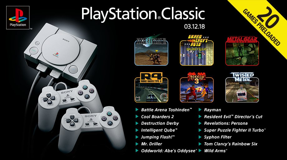 PlayStation Classic coming this Christmas  DqrSsfdVYAItgSd