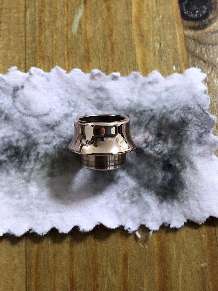 test ツイッターメディア - DAISOで買った金属磨きクロス、結構優秀w #VAPE #ドリップチップ #Fuji #DAISO #金属磨き #金属磨きクロス https://t.co/CfDzmWzdfO
