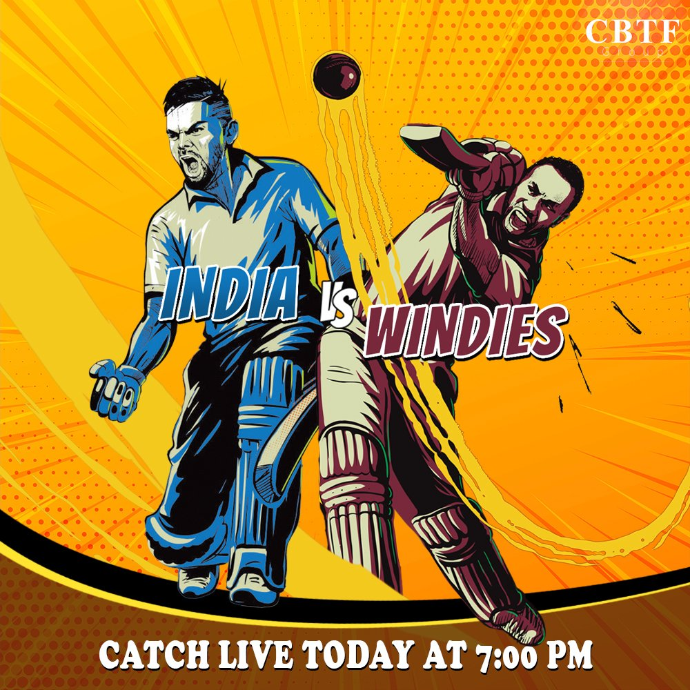 India Vs West Indies 3rd ODI Match Live