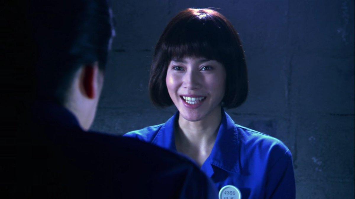 川尻松子役を演じる中谷美紀