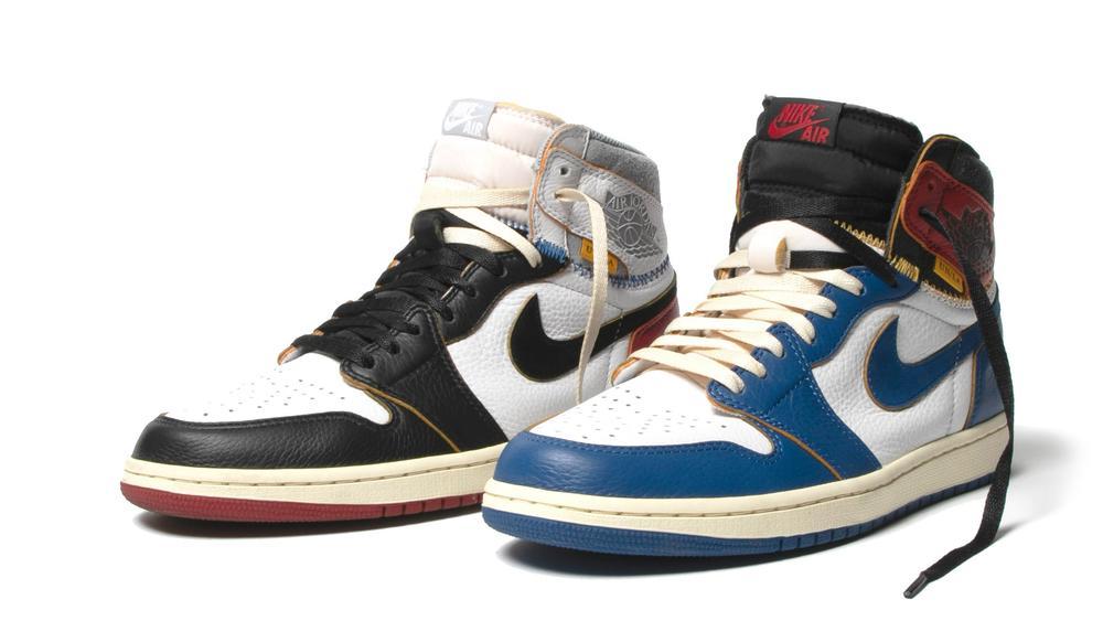 57714ce1825db6 Union x Air Jordan 1 Retro High OG in Black and Blue  colorwayspic.twitter.com AQsFYQlF5i