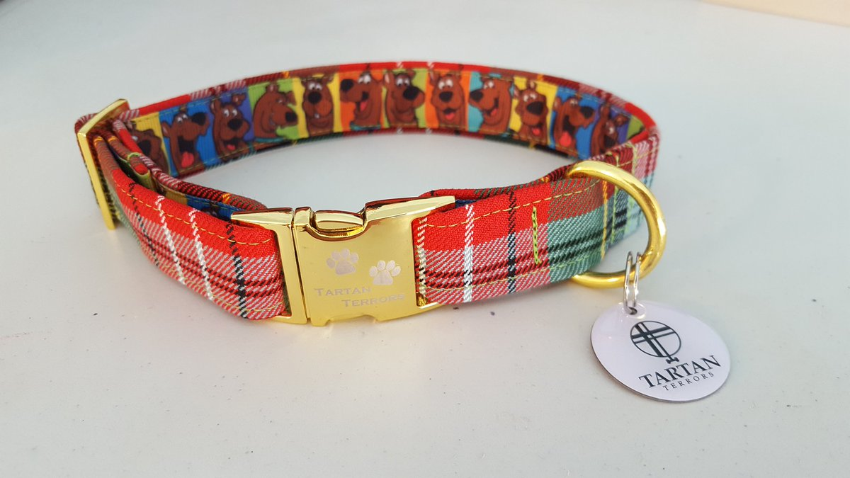 Jock The Dog On Twitter Caledonia Tartan Dog Collar With