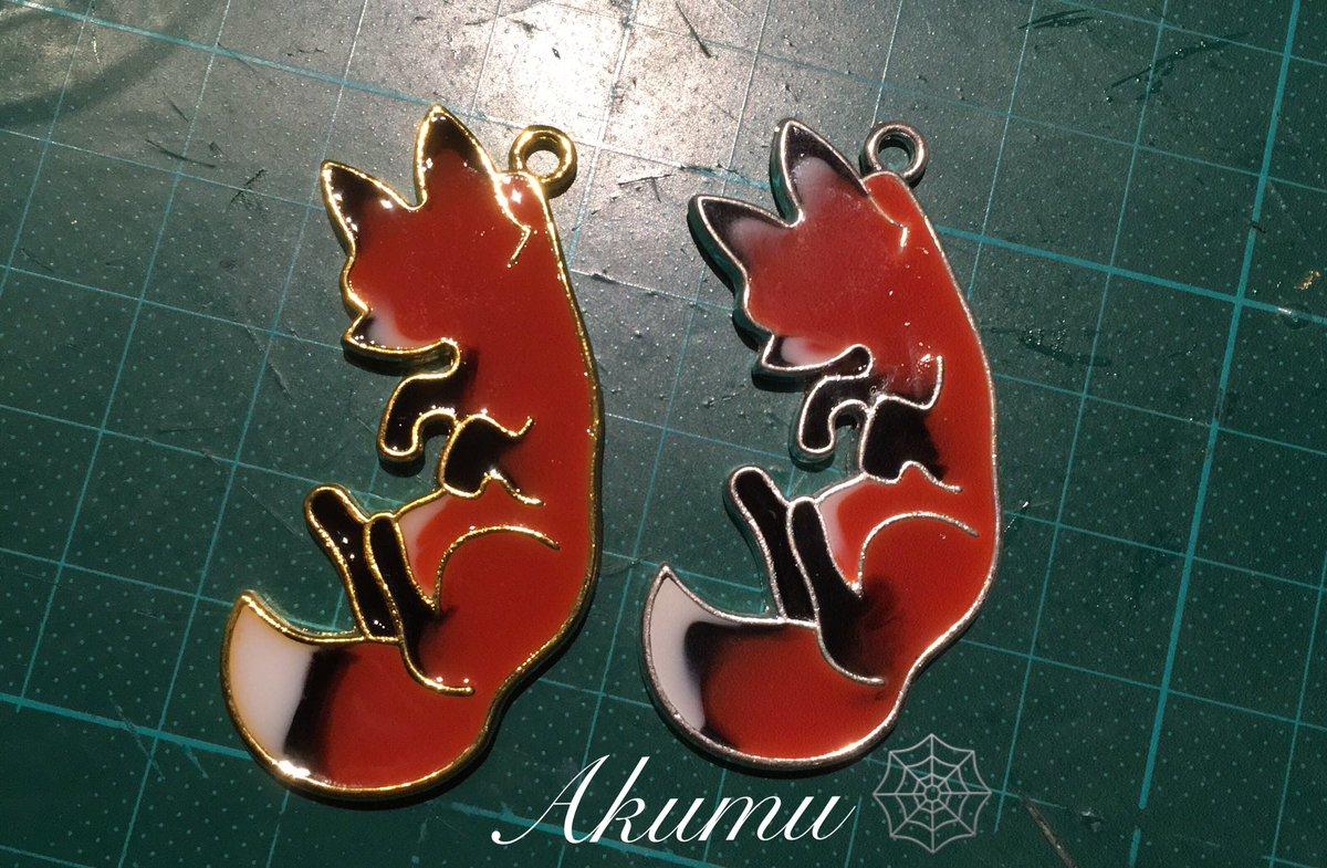 Es geht weiter XD  Fuchs Spam Teil 5 =^^=  #Resin #resinketten #resinjewelery #jewellery #jewelery #necklace #Akumu #Akumujewellery #Fuchs #Fuchskette #Resinnecklace #fox #FoxNecklace #handmade #myart #Foxlovers #VIECC #ninetailsfox