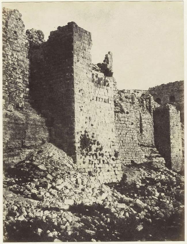 Al Karak City On Twitter قلعة الكرك سنة 1860 الكرك هنا الكرك