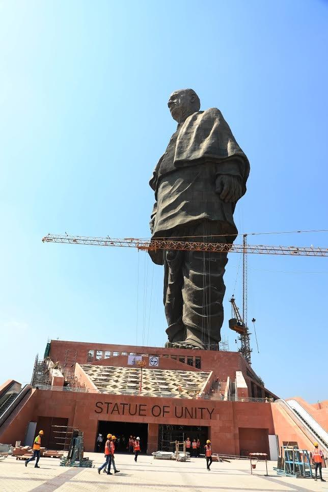 ગુજરાતના આંગણે આકાર પામેલી અખંડ ભારતની વૈશ્વિક ઓળખ : સ્ટેચ્યૂ ઓફ યુનિટી
