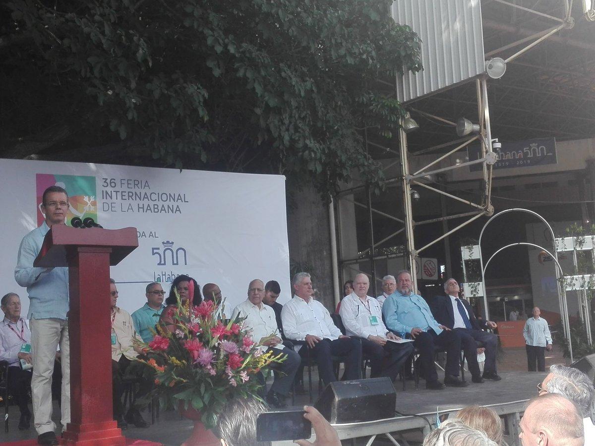 Inauguración de la Feria de La Habana